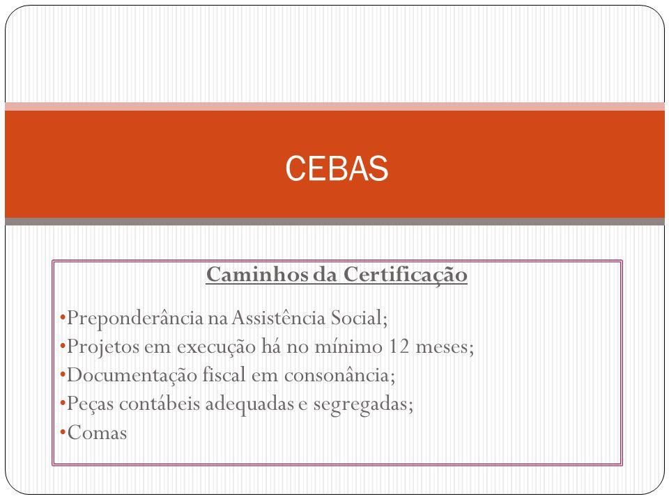 Caminhos da Certificação