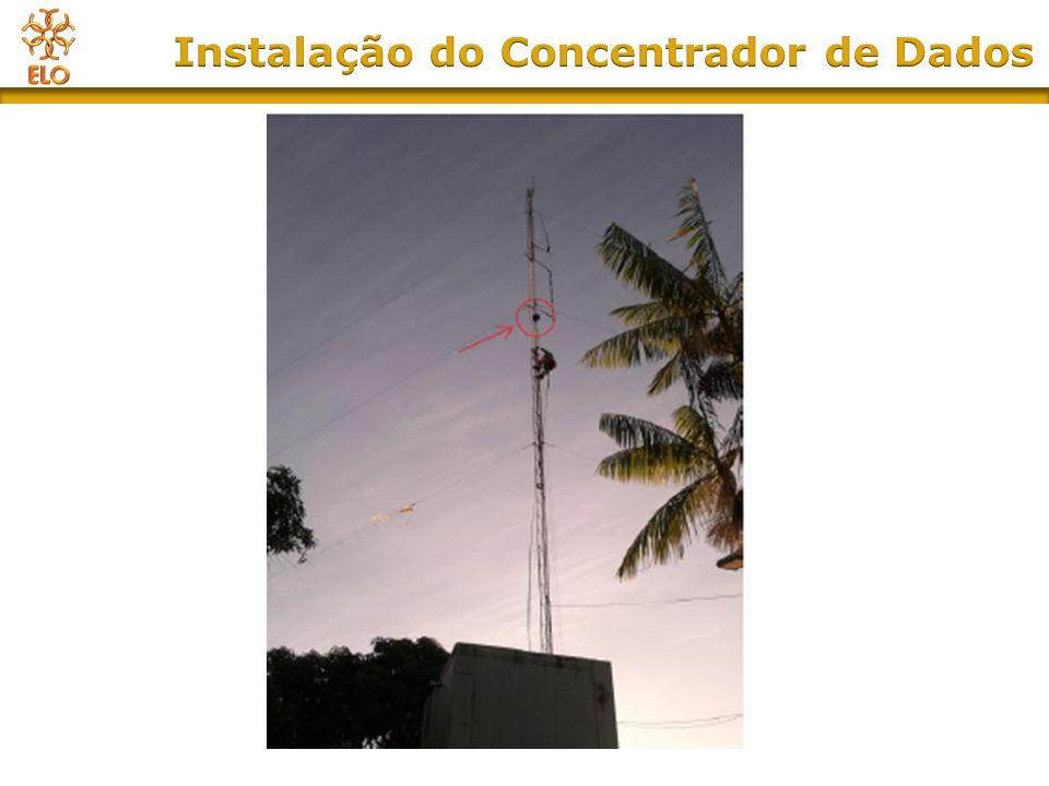 Instalação do Concentrador de Dados
