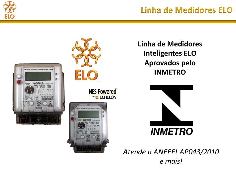 Linha de Medidores Inteligentes ELO Aprovados pelo INMETRO
