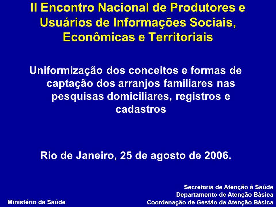 Rio de Janeiro, 25 de agosto de 2006.