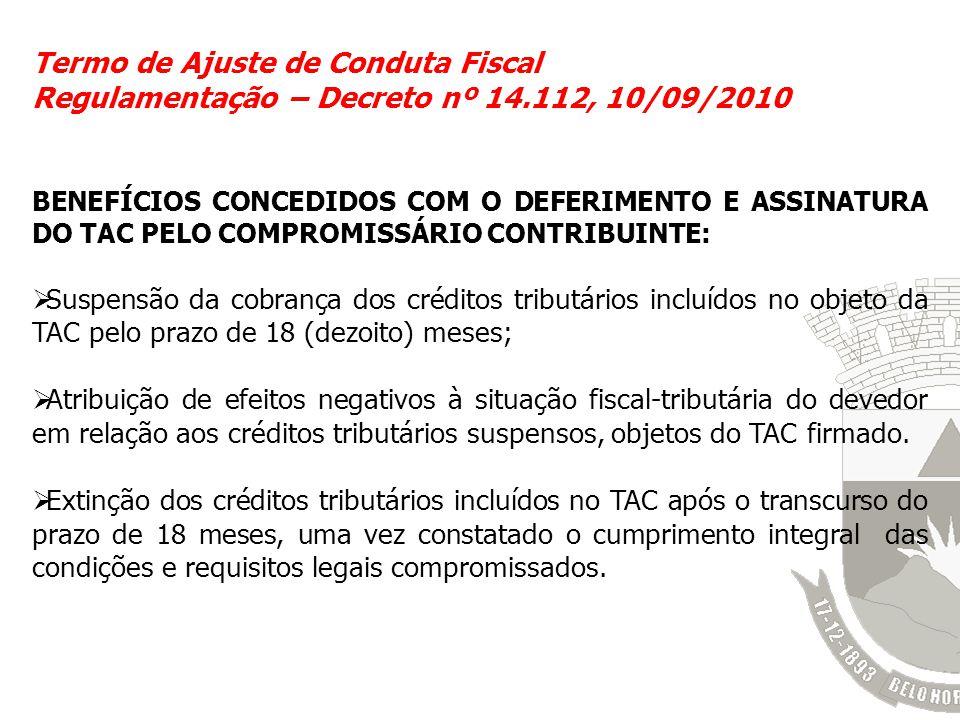 Termo de Ajuste de Conduta Fiscal