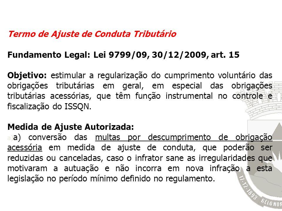 Termo de Ajuste de Conduta Tributário