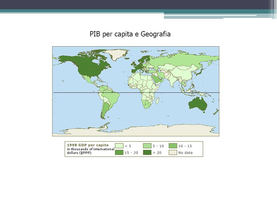 PIB per capita e Geografia
