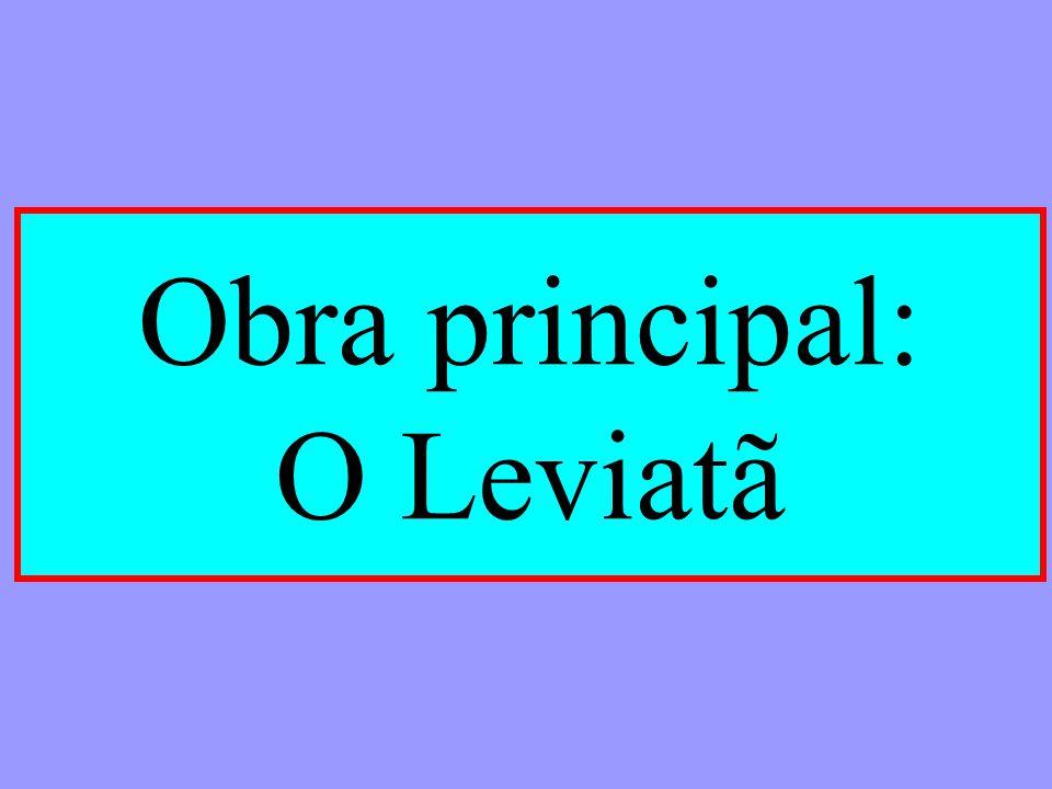Obra principal: O Leviatã
