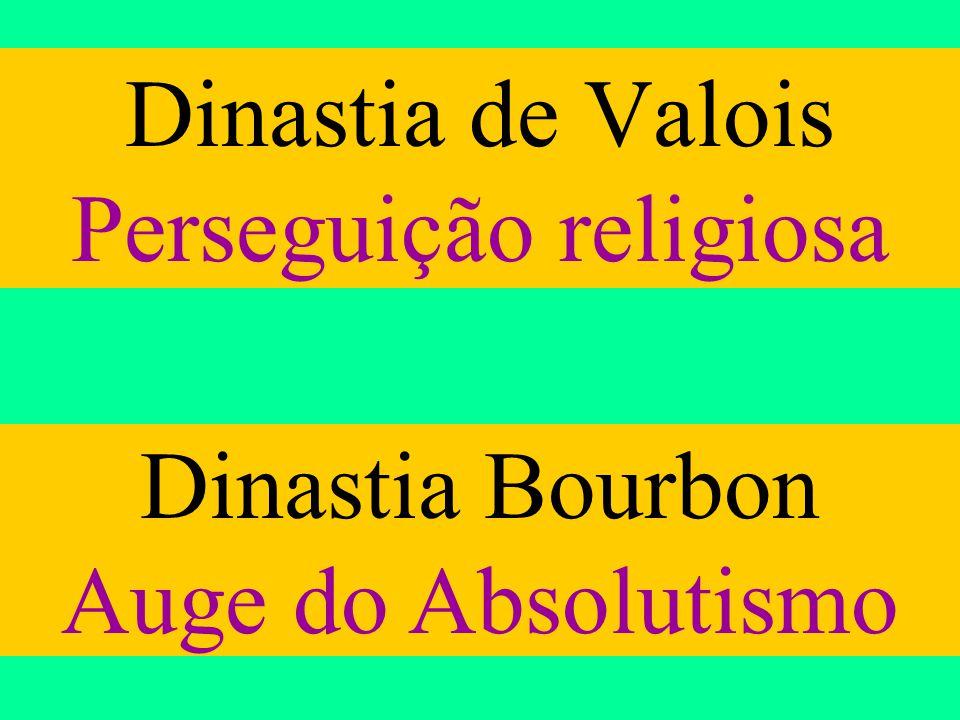 Dinastia de Valois Perseguição religiosa