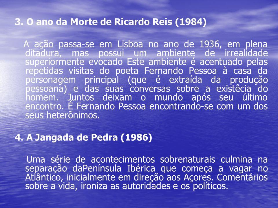 3. O ano da Morte de Ricardo Reis (1984)