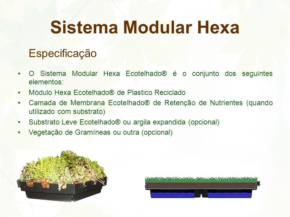 Sistema Modular Hexa Especificação