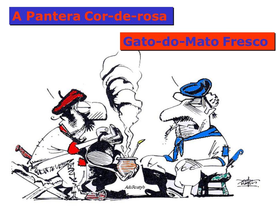 A Pantera Cor-de-rosa Gato-do-Mato Fresco