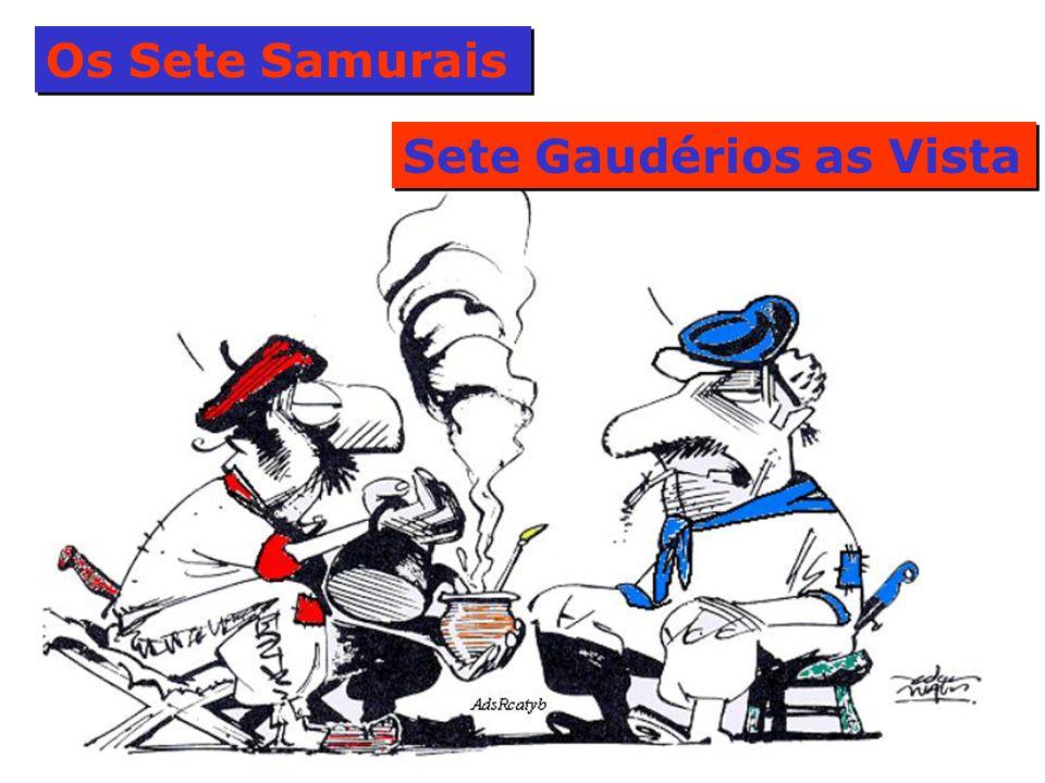 Os Sete Samurais Sete Gaudérios as Vista