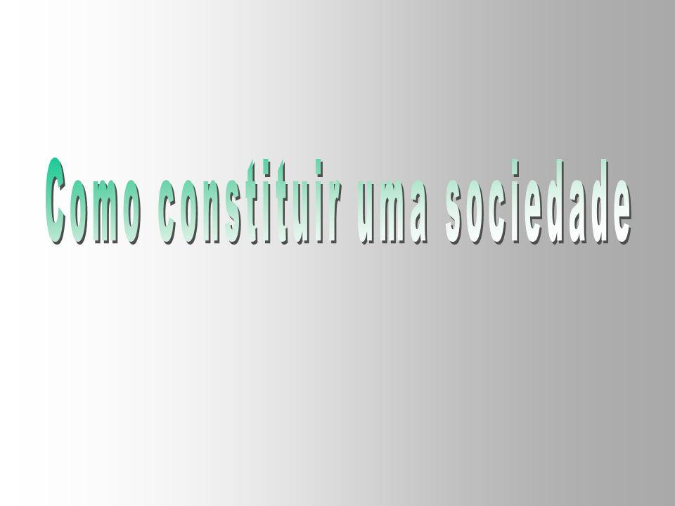 Como constituir uma sociedade