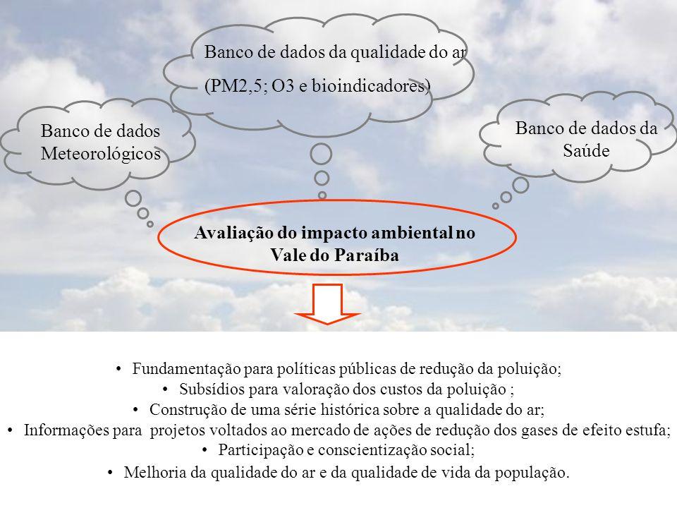 Avaliação do impacto ambiental no Vale do Paraíba