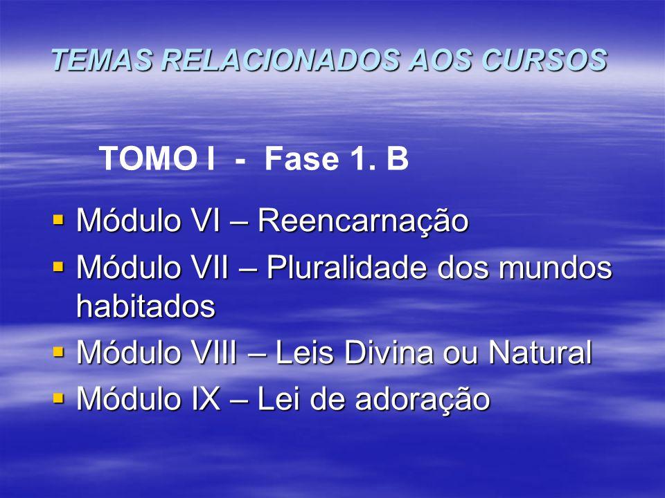 TEMAS RELACIONADOS AOS CURSOS