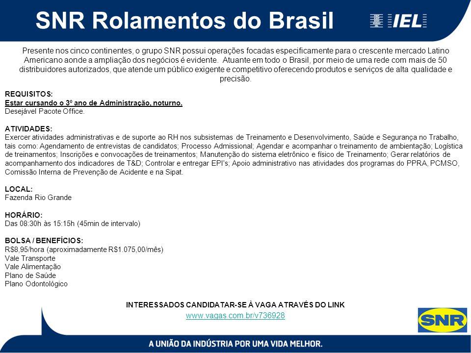 SNR Rolamentos do Brasil