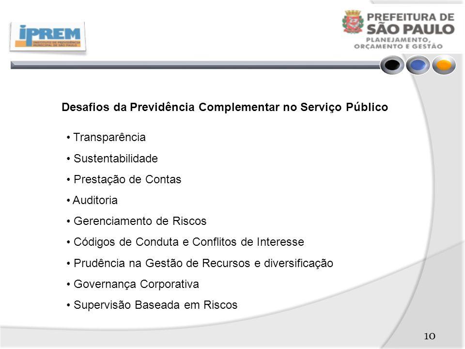 Desafios da Previdência Complementar no Serviço Público