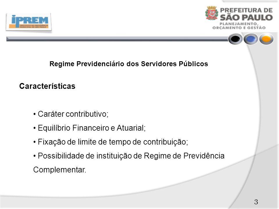 Regime Previdenciário dos Servidores Públicos