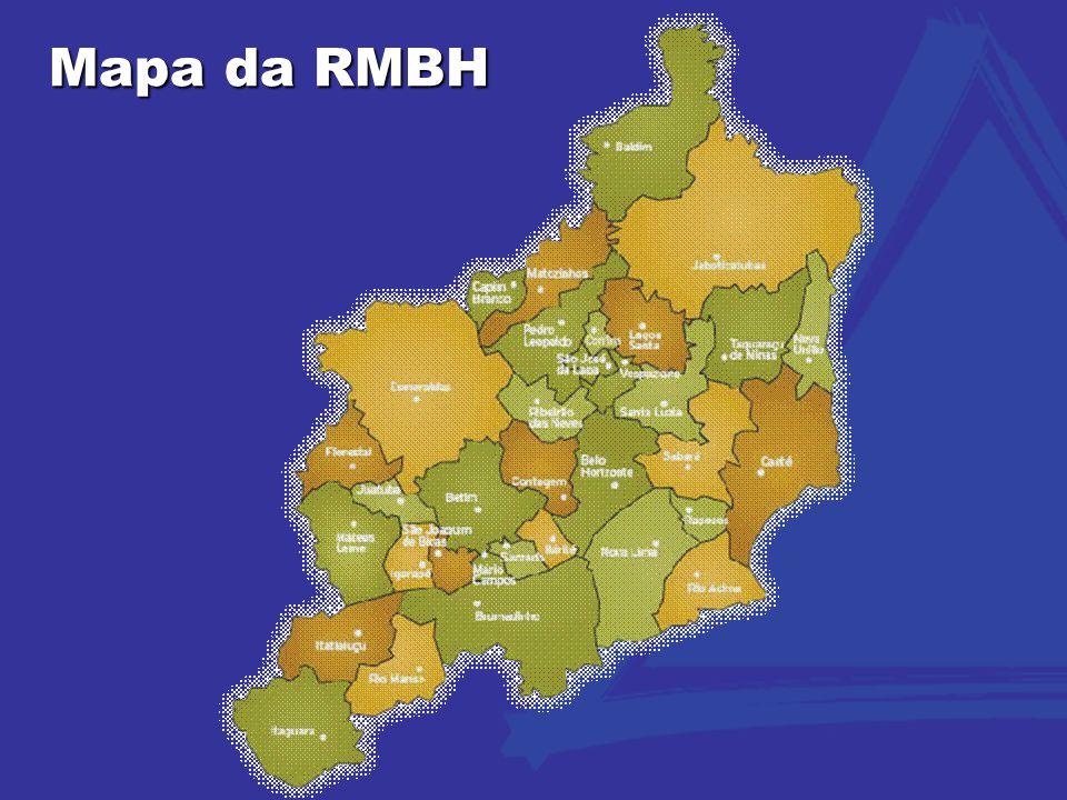 Mapa da RMBH 2
