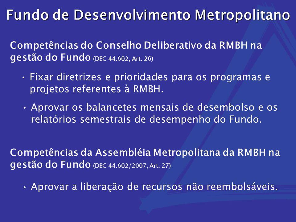 Fundo de Desenvolvimento Metropolitano