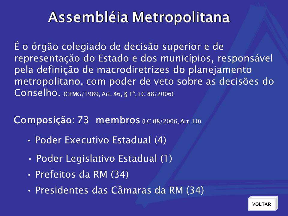 Assembléia Metropolitana Assembléia Metropolitana