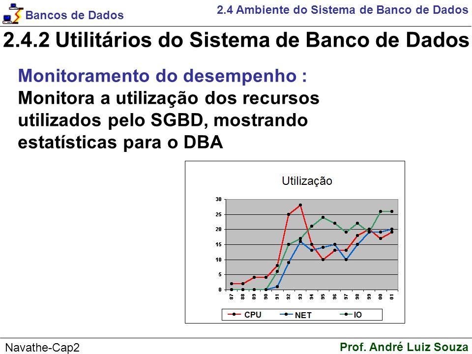 2.4.2 Utilitários do Sistema de Banco de Dados