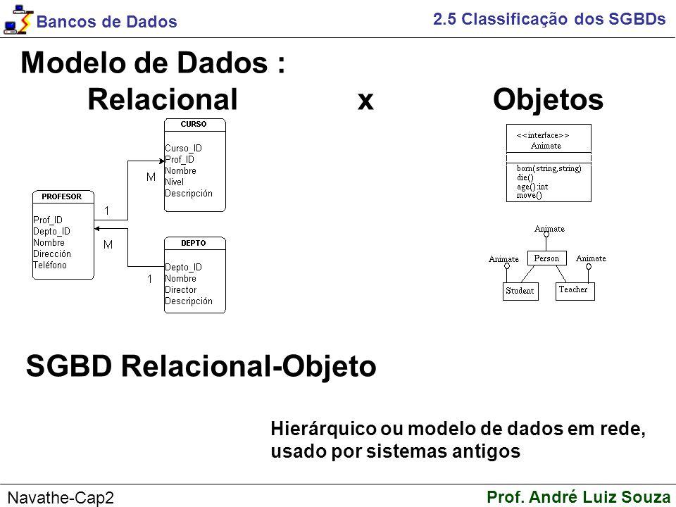 SGBD Relacional-Objeto