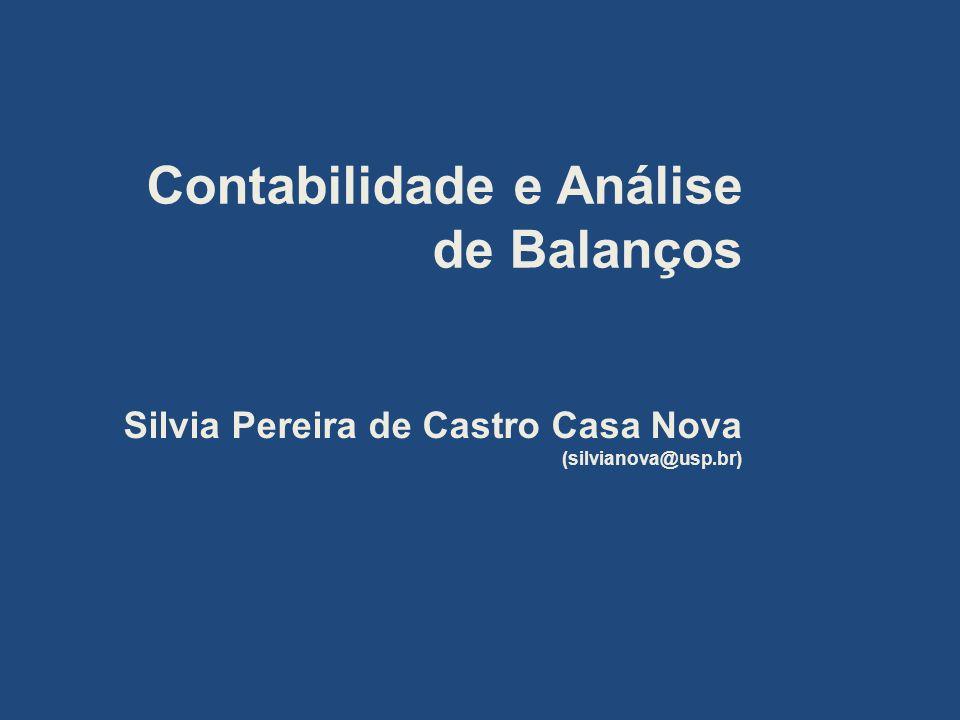 Contabilidade e Análise de Balanços
