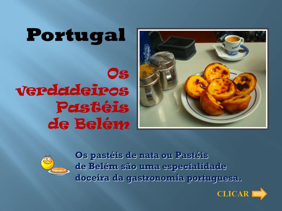 Portugal Os verdadeiros Pastéis de Belém
