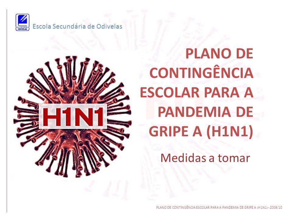 PLANO DE CONTINGÊNCIA ESCOLAR PARA A PANDEMIA DE GRIPE A (H1N1)
