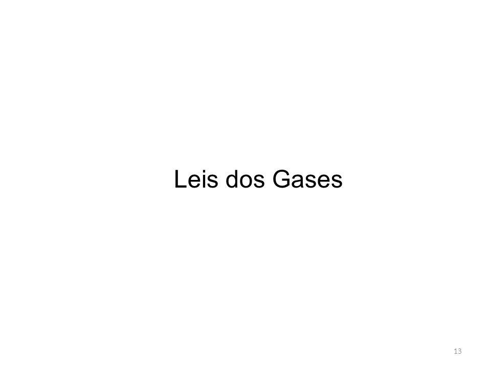 Leis dos Gases