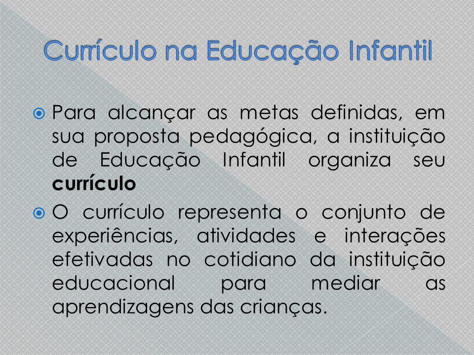 Currículo na Educação Infantil