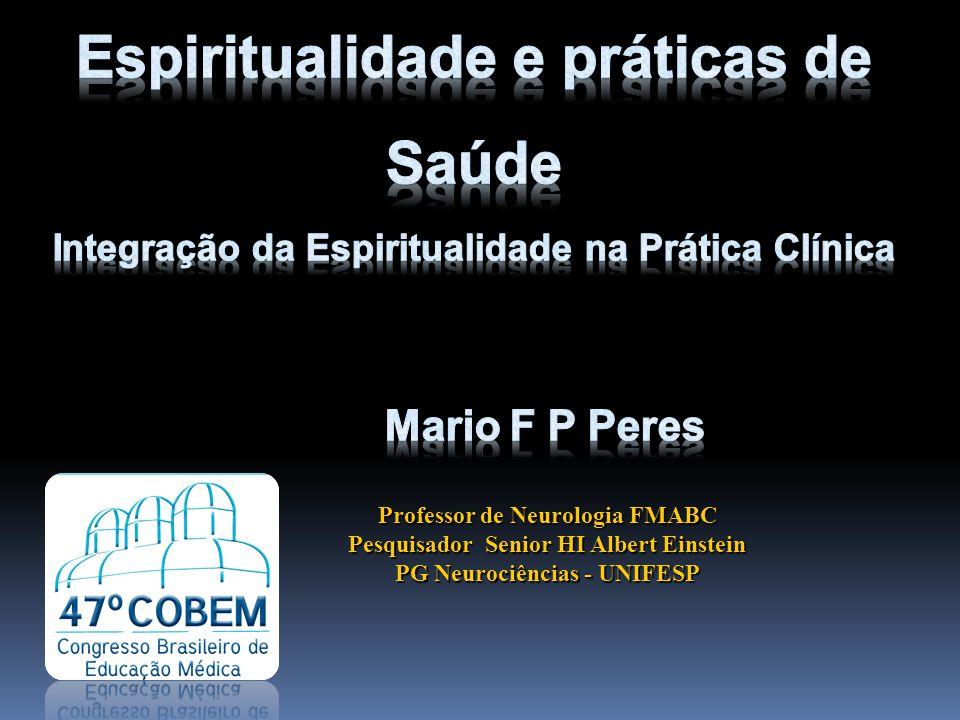 Espiritualidade e práticas de Saúde