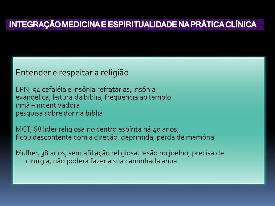Entender e respeitar a religião