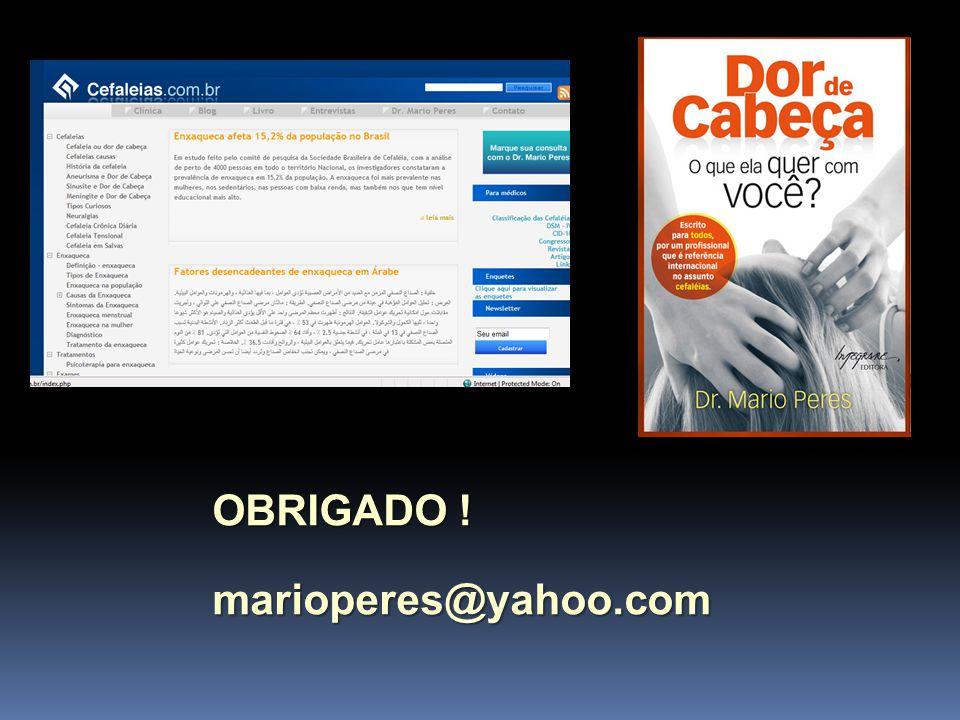 OBRIGADO ! marioperes@yahoo.com