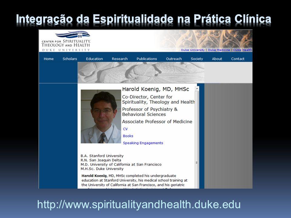 Integração da Espiritualidade na Prática Clínica
