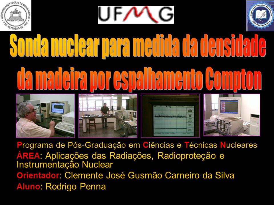 Sonda nuclear para medida da densidade