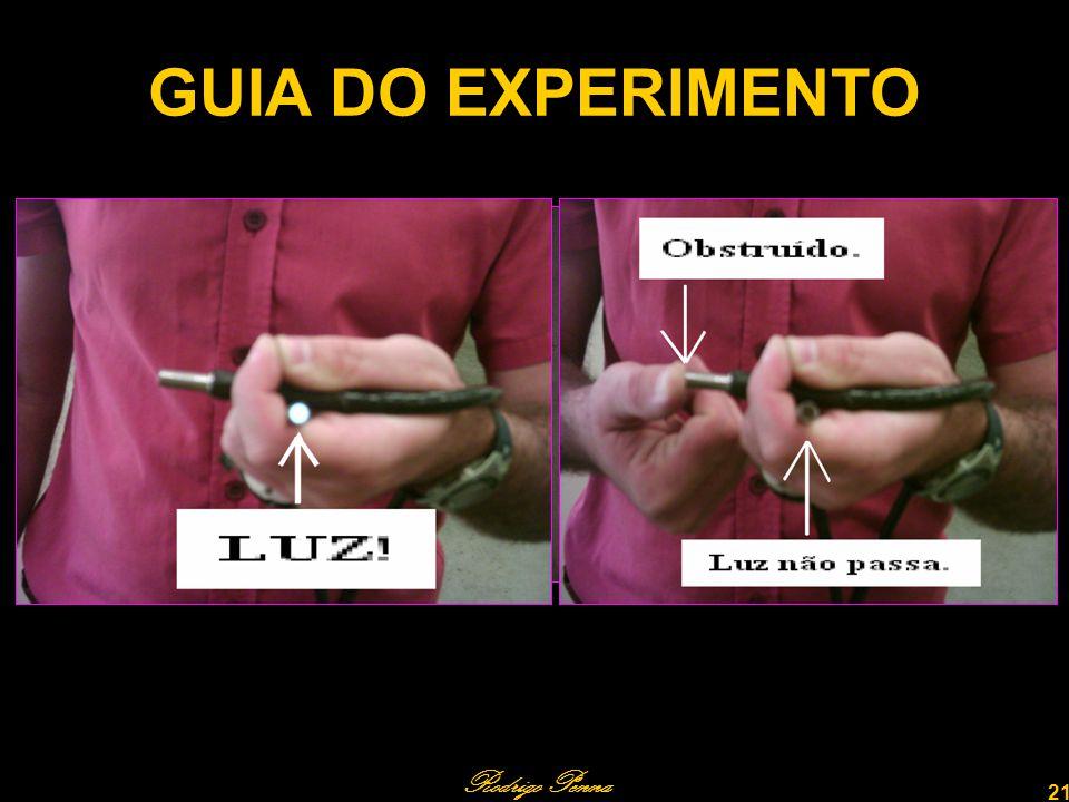 GUIA DO EXPERIMENTO Rodrigo Penna