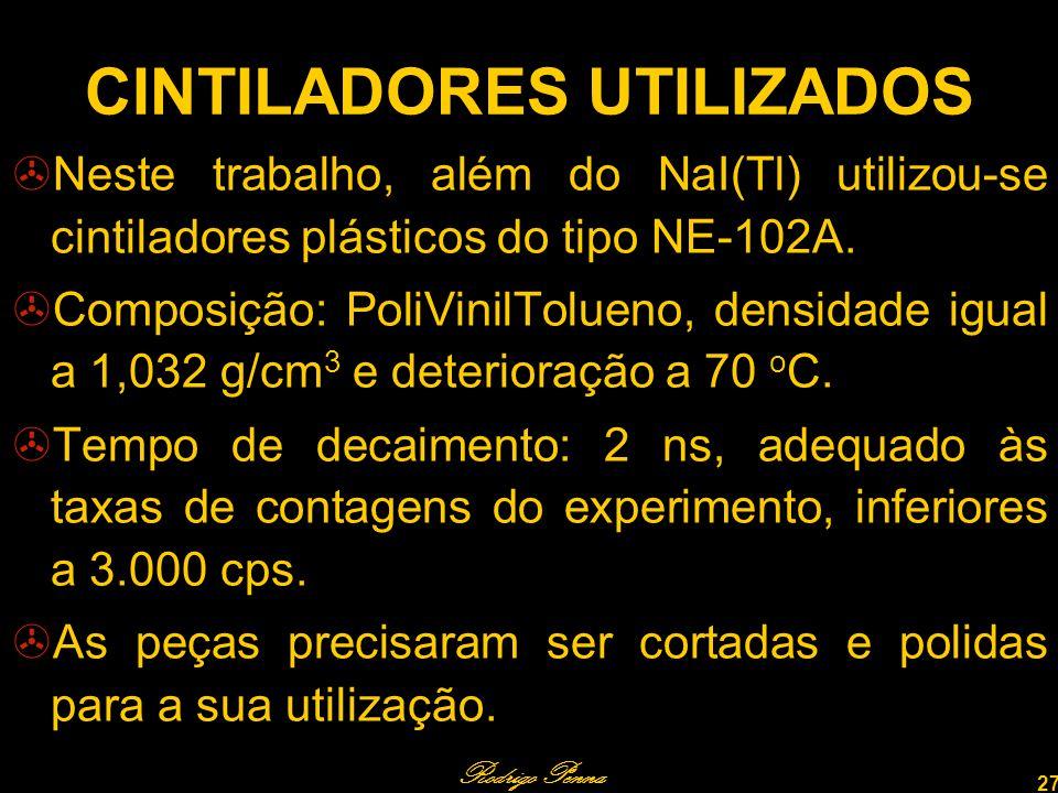CINTILADORES UTILIZADOS