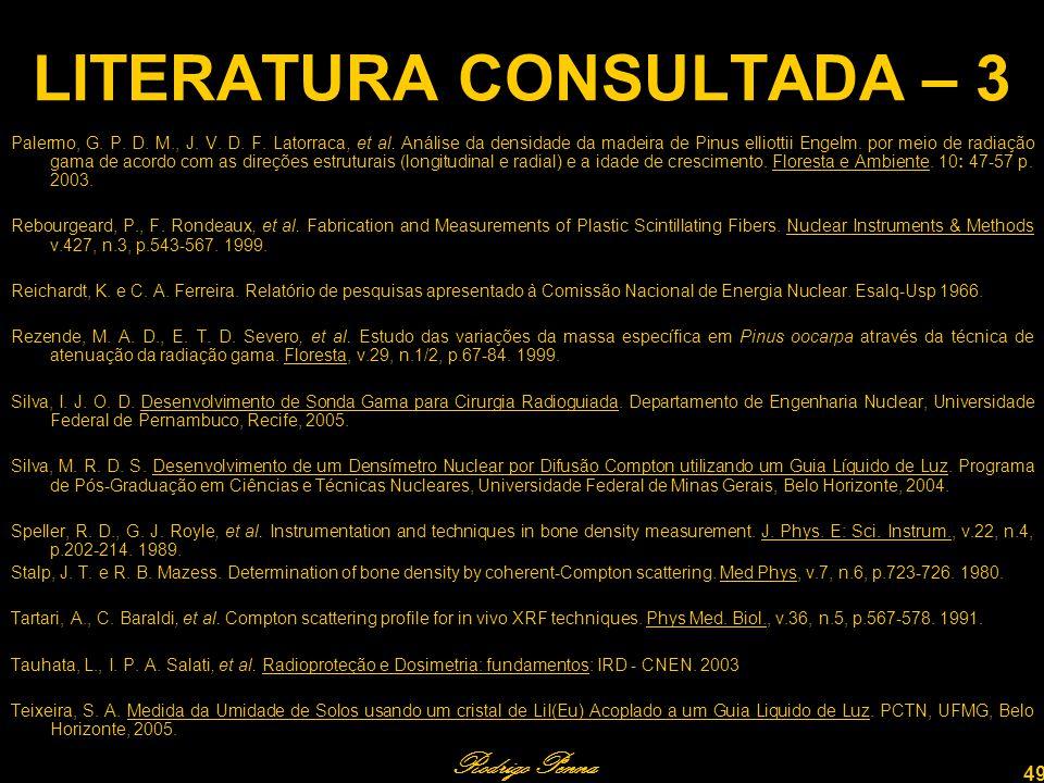 LITERATURA CONSULTADA – 3