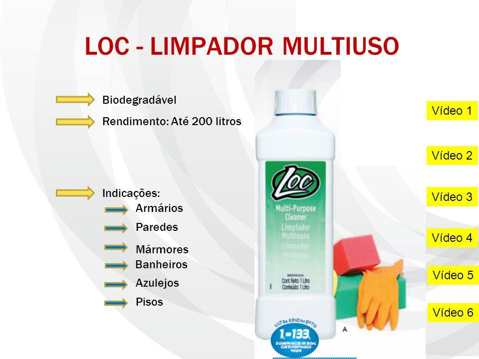 LOC - LIMPADOR MULTIUSO