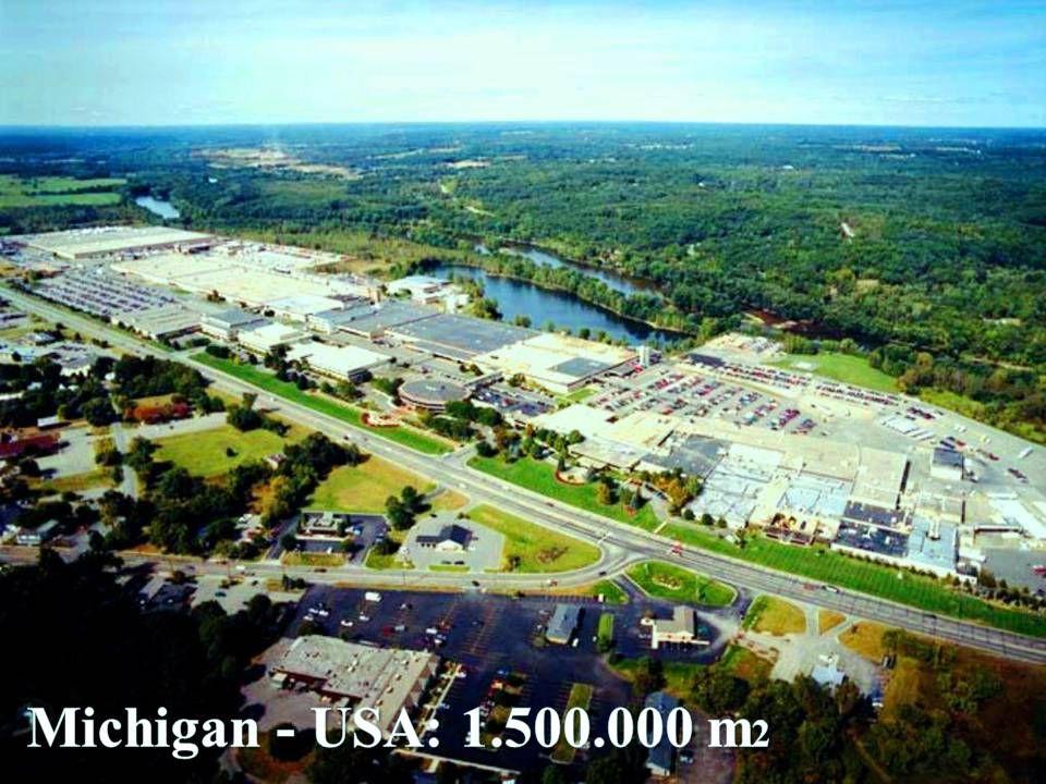 A EMPRESA Michigan - USA: 1.500.000 m2