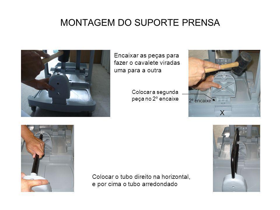 MONTAGEM DO SUPORTE PRENSA