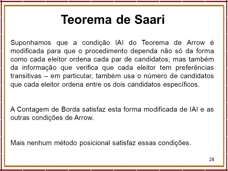 Teorema de Saari