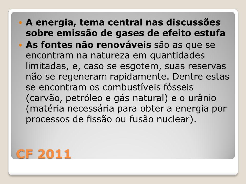 A energia, tema central nas discussões sobre emissão de gases de efeito estufa