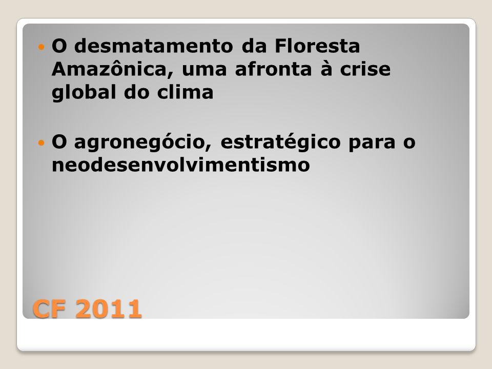 O desmatamento da Floresta Amazônica, uma afronta à crise global do clima