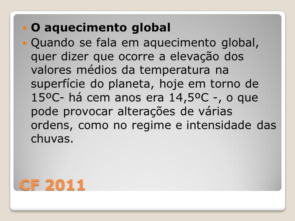 CF 2011 O aquecimento global