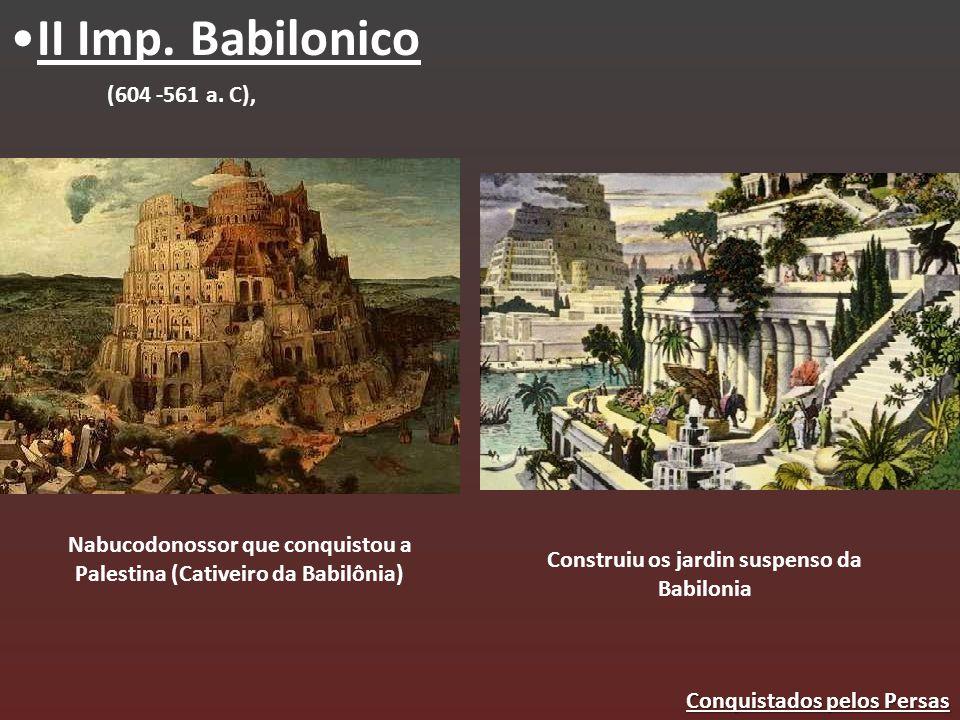 II Imp. Babilonico (604 -561 a. C),