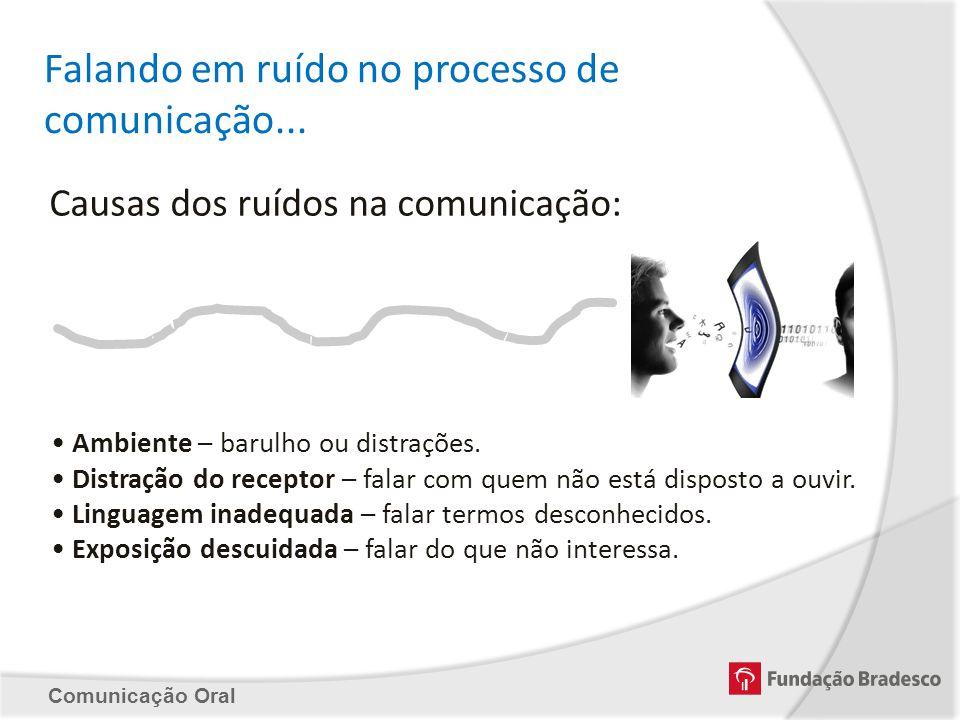 Falando em ruído no processo de comunicação...