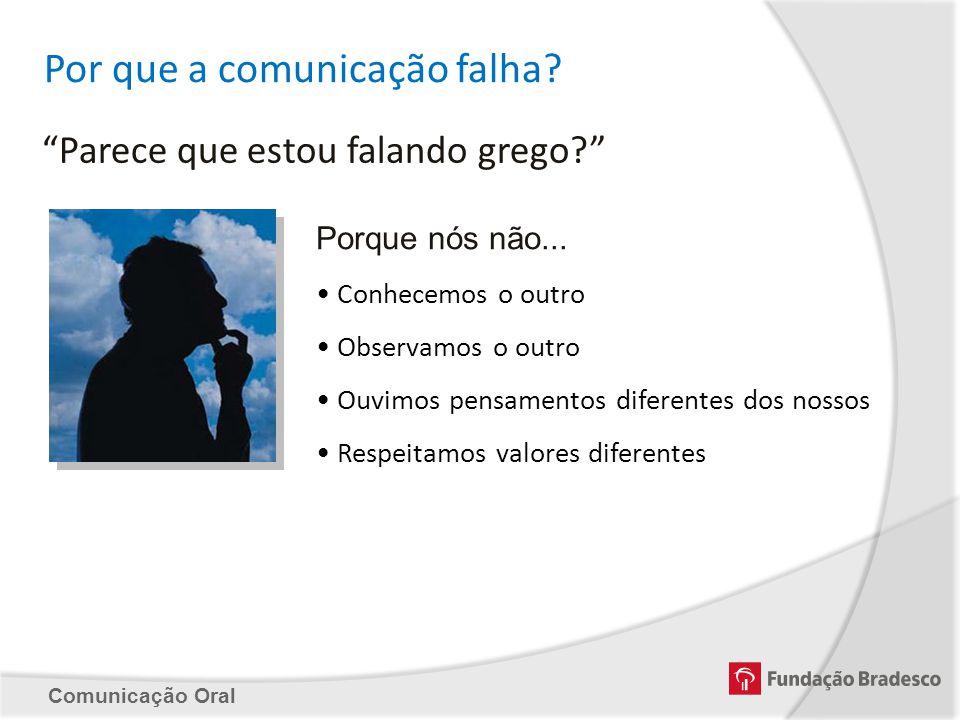 Por que a comunicação falha