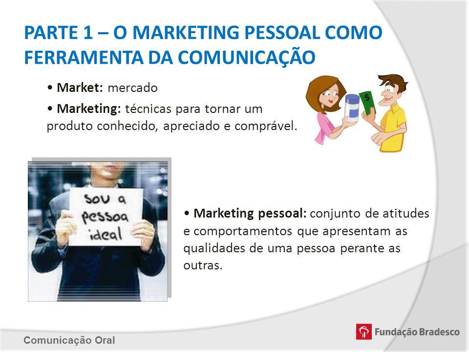 PARTE 1 – O MARKETING PESSOAL COMO FERRAMENTA DA COMUNICAÇÃO