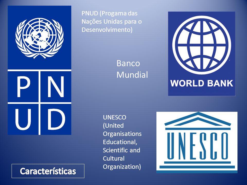 Banco Mundial Características