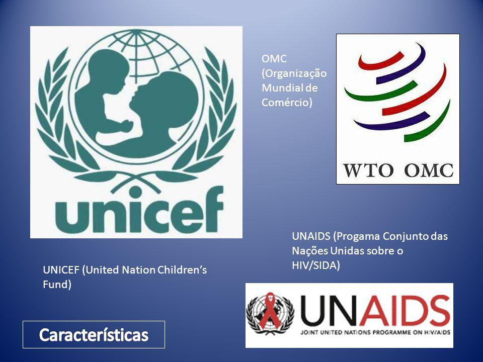 Características OMC (Organização Mundial de Comércio)
